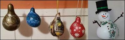 Mini Gourd Painting