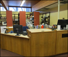 New Circulation Desk at West