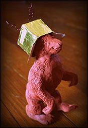 Good Read - Clay Sculpture