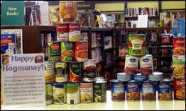 Hogmanay Food Donations