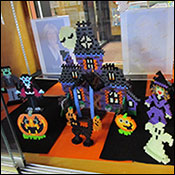 fused bead display
