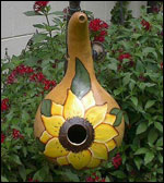 Gourd Birdhouse Painting