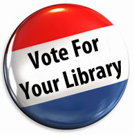 Vote For Your Library